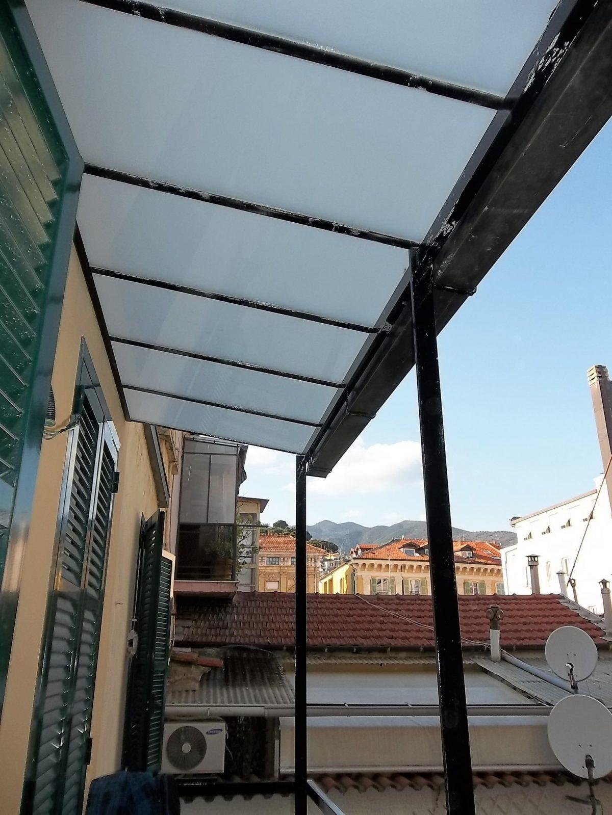 Realizzazione tettoia – Termoidraulica Tano